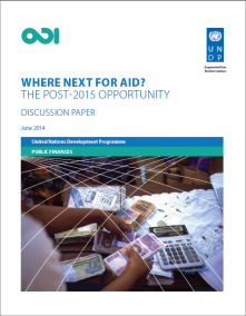 ODI UNDP cover where next?